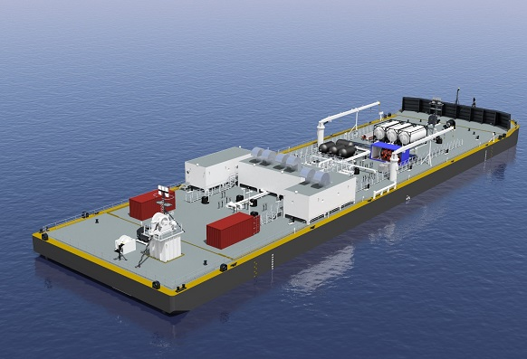 326′ x 84′ Oil Cargo Barge