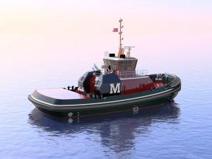 Jensen Maritime designs tugboat, workboats and fishing vessel solutions that highly capable.